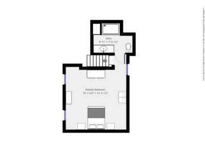 Acorn Room Plan | Brewster By the Sea Cape Cod B&B | Brewster, MA