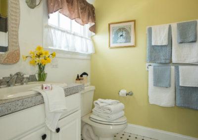 Bayberry Room Bathroom | Brewster By the Sea Cape Cod B&B | Brewster, MA