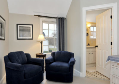Bayberry Room Two Sofa | Brewster By the Sea Cape Cod B&B | Brewster, MA