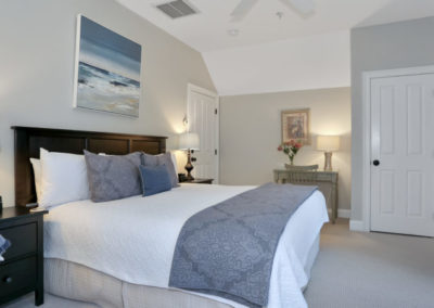 Bayberry Room Bed | Brewster By the Sea Cape Cod B&B | Brewster, MA