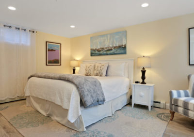 Patio Suite Bedroom | Brewster By the Sea Cape Cod B&B | Brewster, MA