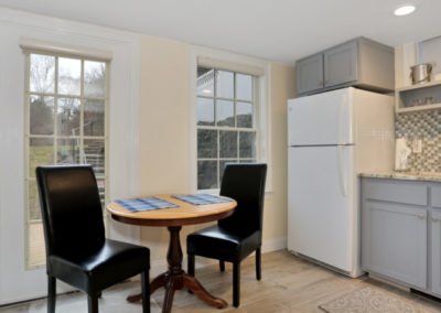 Patio Suite Dining | Brewster By the Sea Cape Cod B&B | Brewster, MA