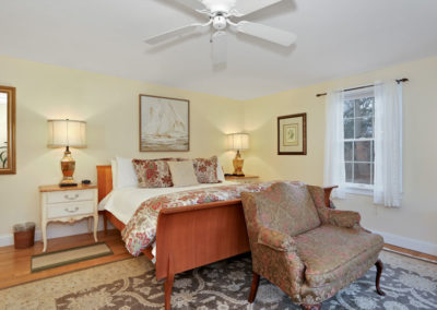 Refugio Suite Main Bed | Brewster By the Sea Cape Cod B&B | Brewster, MA