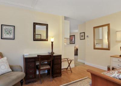Refugio Suite Bedroom Corner | Brewster By the Sea Cape Cod B&B | Brewster, MA