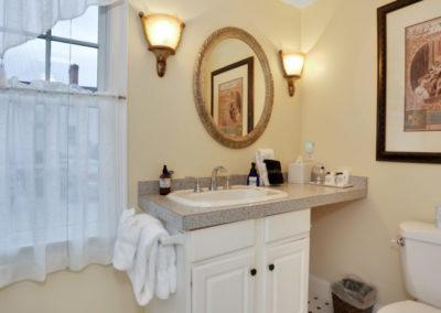 Refugio Suite Bathroom | Brewster By the Sea Cape Cod B&B | Brewster, MA
