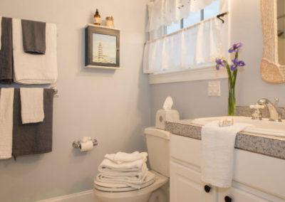 Sea Meadow Room Bathroom | Brewster By the Sea Cape Cod B&B | Brewster, MA