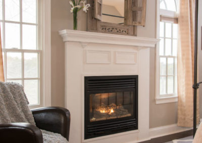Sea Meadow Room Fireplace | Brewster By the Sea Cape Cod B&B | Brewster, MA