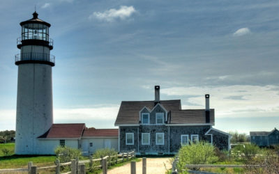 How many Lighthouses are on Cape Cod?