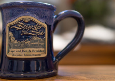 Brewster by the Sea mug | Brewster By the Sea Bed and breakfast | Cape Cod, Brewster, MA