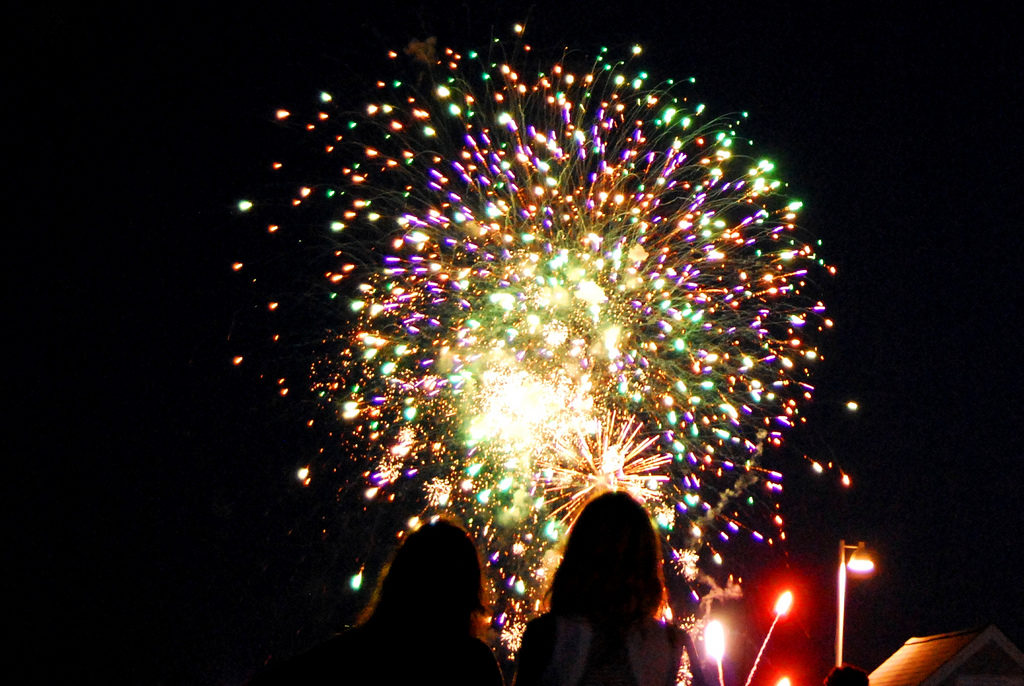 4th of July fireworks in Provincetown | Brewster By the Sea Cape Cod Inn | Brewster, MA