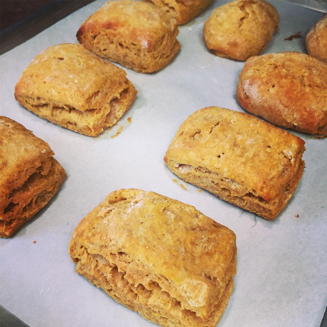 Honey Pumpkin Biscuits | Brewster By the Sea Cape Cod Inn | Brewster, MA
