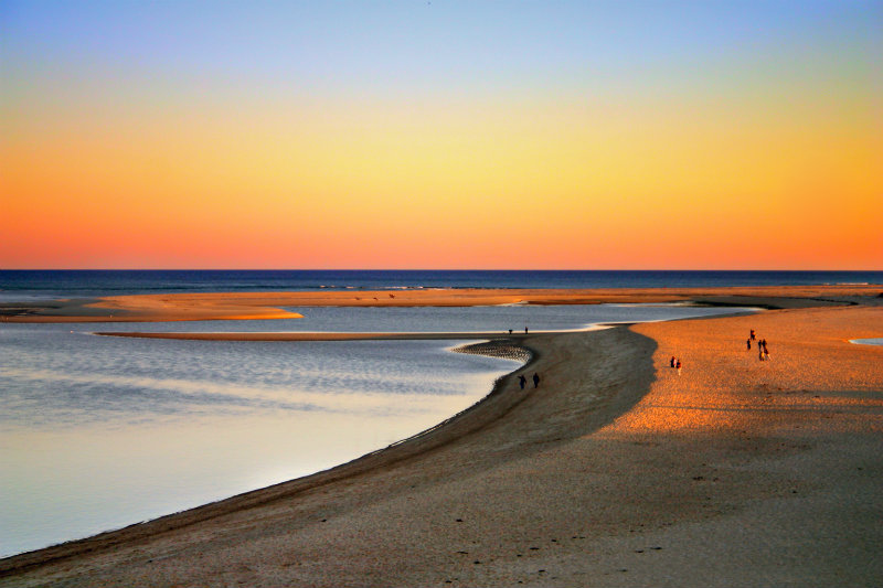 Cape Cod Sunset at Chatham Lighthouse Beach | Brewster By the Sea Cape Cod Inn | Brewster, MA